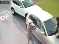 Τρόμος για τουρίστρια: Την πυροβόλησαν για να της πάρουν το αυτοκίνητο (βίντεο)