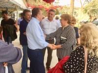 Εγκάρδια υποδοχή στον Στ. Αρναουτάκη σε πόλεις, χωριά