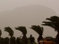 Πού κατεγράφησαν οι μεγαλύτερες ριπές ανέμων και οι υψηλότερες θερμοκρασίες στην Κρήτη