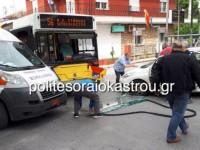 Θεσσαλονίκη: Σφοδρή σύγκρουση IX με λεωφορείο -Απεγκλωβίστηκαν μητέρα και παιδί