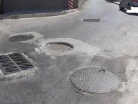 Προσοχή! Κίνδυνος στην οδό Γεωργιλάδων στα Χανιά (φωτο)