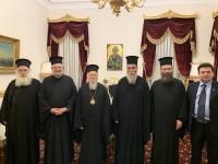 Αντιπροσωπεία της Εκκλησίας της Κρήτης είχε συνάντηση με τον Οικουμενικό Πατριάρχη