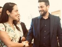 Παναγιώτης Σημανδηράκης & Δόμνα Μιχαηλίδου: Έτσι ξεκίνησαν όλα; (φωτο)