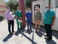 Ηράκλειο: Τέθηκε σε λειτουργία ο χώρος μοριακού ελέγχου για SARS-COV-2