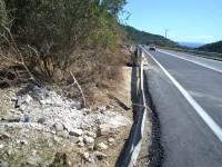 Εθνική οδός Χανίων – Κισάμου: Μπάρες «ασφαλείας» δεμένες με....σχοινί!