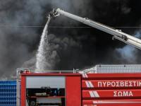 Φωτιά στη δομή μεταναστών στη Σάμο
