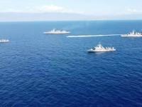 Oruc Reis:Τα πλοία του Πολεμικού Ναυτικού έχουν σχηματίσει «ασπίδα» στο Καστελόριζο (φωτο)