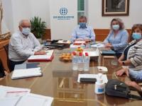 Συνάντηση για τα έργα και τη στήριξη της Περιφέρειας Κρήτης στην Δημόσια Υγεία