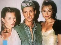 Μπαλατσινού: Όταν έκανε πασαρέλα show του Βασίλειου Κωστέτσου μαζί με την Kate Moss