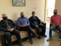 Συνάντηση Σωκράτη Βαρδάκη με εκπροσώπους του Σωματείου Εργαζομένων Δ.Ε.Υ.Α. Ηρακλείου
