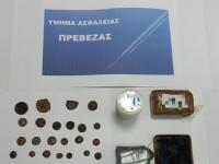 Αρχαία νομίσματα και ναρκωτικά για Κάλυμνο