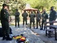 ΛΕΦΕΔ Ηρακλείου: Οι έφεδροι συμμετέχουν ενεργά στην αντιπυρική προστασία