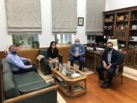 Συνάντηση Σταύρου Αρναουτάκη με Δόμνα Μιχαηλίδου