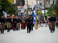 Πλήθος κόσμου στη μαθητική παρέλαση στο Γάζι