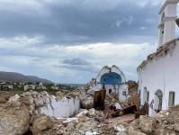 Ξαναχτίζεται το Εκκλησάκι στον Ξερόκαμπο