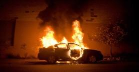 Ηράκλειο: Έβαλε τη μίζα και πήρε φωτιά το αμάξι!