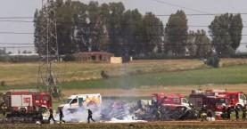 Βρέθηκαν τα δύο μαύρα κουτιά του A400M που συνετρίβη στη Σεβίλλη