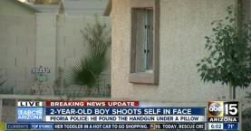 Αγοράκι 2 χρονών αυτοπυροβολήθηκε με το όπλο του πατέρα του