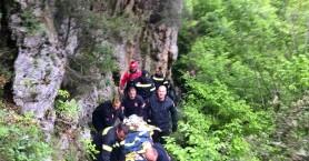 Τουρίστας εγκλωβίστηκε σε φαράγγι στη Μυρτιά