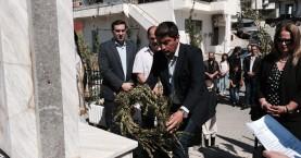 Στον εορτασμό για το Ολοκαύτωμα των Καμαρών ο Λευτέρης Αυγενάκης