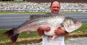 Ψαριά… τριάντα κιλών με...καλάμι!