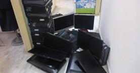 Κατασχέθηκαν 10 ηλεκτρονικοί υπολογιστές σε καφενείο του Ρεθύμνου