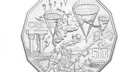 Η Μάχη της Κρήτης σε νόμισμα της Αυστραλίας!
