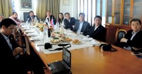 Κινεζική αντιπροσωπεία στον Οργανισμό Λιμένος Ηρακλείου