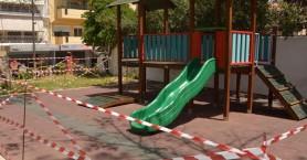 Ακατανόητο: Άγνωστοι κατέστρεψαν παιδική χαρά στα Χανιά (φωτο)