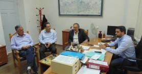 Συνάντηση με τη νέα ηγεσία της Περιφερειακής Δ/νσης Εκπαίδευσης Κρήτης