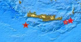 Τρεις σεισμικές δονήσεις μέσα σε μισή ώρα στην Κρήτη