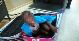 Έβαλαν 8χρονο μετανάστη μέσα σε βαλίτσα για να τον μεταφέρουν στην Ισπανία