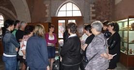 Ξενάγηση του Δια βίου μάθηση στο Αρχαιολογικό Μουσείο Χανίων