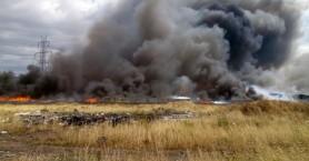 Πλιάτσικο στο εργοστάσιο που κάηκε στον Ασπρόπυργο