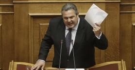 Καμμένος: Η Ελλάδα δεν εκβιάζεται