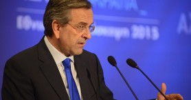 Σαμαράς: Ο Τσίπρας λέει ψέματα για το ΔΝΤ