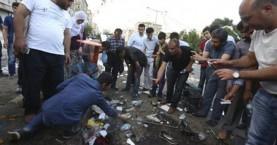 «Προβοκάτσια» κατά τον Ερντογάν η έκρηξη στην κουρδική συγκέντρωση