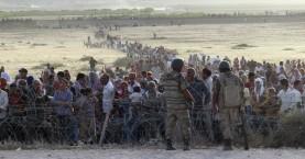 Οι τουρκικές αρχές άνοιξαν σύνορα για τους Σύρους πρόσφυγες