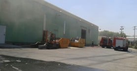 Συναγερμός από φωτιά σε εργοστάσιο ανακύκλωσης στη ΒΙΠΕ