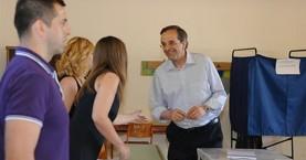 Σαμαράς: Σήμερα οι έλληνες αποφασίζουμε για τη μοίρα της χώρας