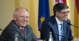 Οι κινήσεις των ΗΠΑ και η παρέμβαση Λιου στον Σόιμπλε για το ελληνικό χρέος
