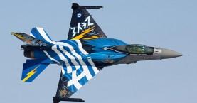 Το μήνυμα του Χανιώτη πιλότου του F16 στη Θεσσαλονίκη: Καλημέρα Μακεδονία!