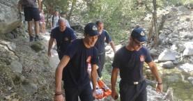 Τραυματίστηκε 28χρονη στο φαράγγι της Ίμπρου