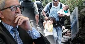 Ο Γιούνκερ για προσφυγικό: Αυτή δεν είναι η Ευρώπη που θέλω να ζω