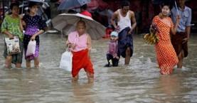 Καταιγίδες και πλημμύρες φέρνουν τη Μιανμάρ σε κατάσταση εκτάκτου ανάγκης
