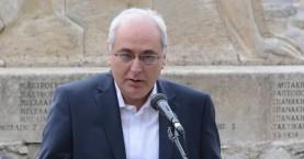 Ο Δήμαρχος Βιάννου στην επιτροπή της Βουλής για τις Γερμανικές αποζημιώσεις