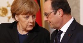 Ολάντ και Μέρκελ ζητούν ενιαία ευρωπαϊκή απάντηση στην κρίση των προσφύγων