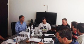 Συνάντηση Σεροπιάν – διοίκησης εφ όλης της ύλης