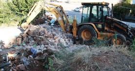 Κατεδάφιση ετοιμόρροπων & παράνομων κτισμάτων στην Παλιά Πόλη Χανίων