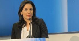 """Η Όλγα Κεφαλογιάννη στο Συνέδριο """"Greece's Turn? Litmus Test for Europe"""
